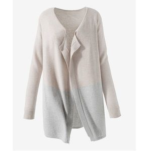 NWT Chico's Drape Front Cardigan Colorblock - Sz 0